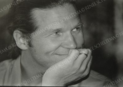 Jeff bridges b-w