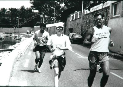 Madonna running