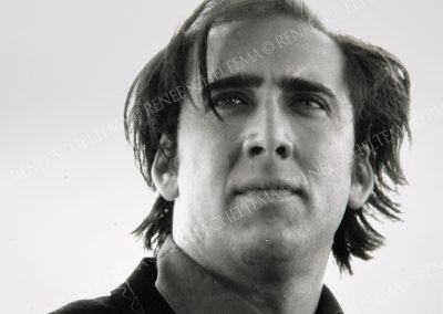 Nicholas Cage b-w